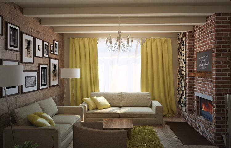 Как сделать интерьер в гостиной