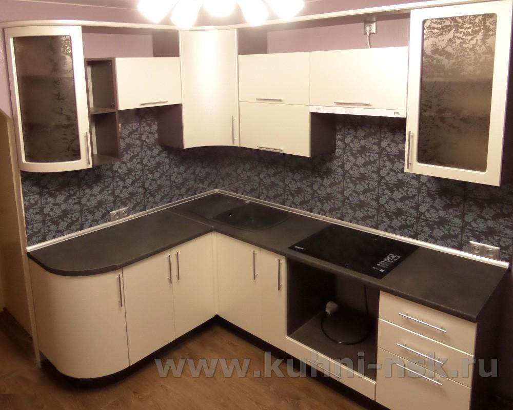 бежевая кухня 9м2 фото гарнитура