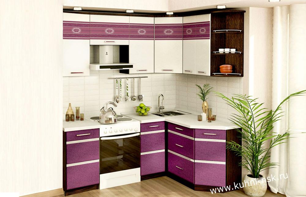 маленькая угловая кухня в хрущевку в наличии палермо 814 модерн